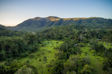Misty Mayan Mountains in Central America