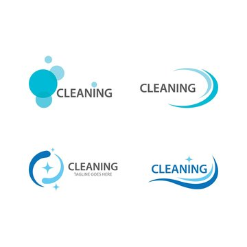 Cleaning logo and symbol