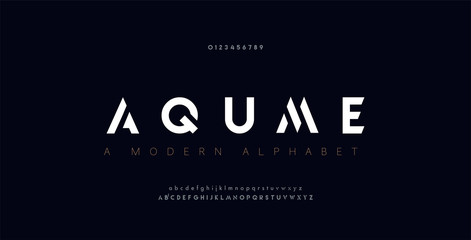 Abstract digital modern alphabet fonts. Typography technology electronic dance music future creative font. vector illustration