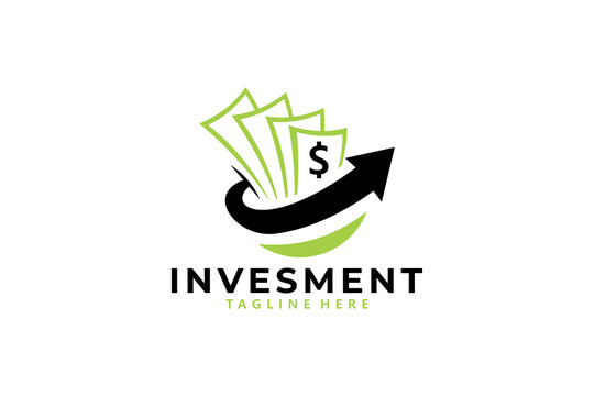 money investing logo icon vector isolated