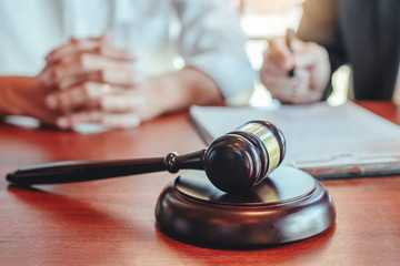 Judges male lawyers Consultation of businessmen legal services Consulting in regard to the various...