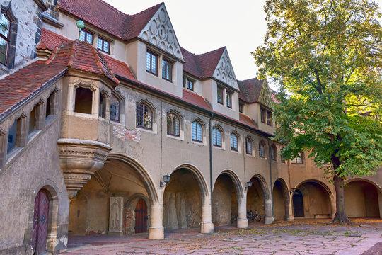 Moritzburg in Halle an der Saale, Sachsen-Anhalt