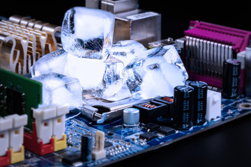 CPU cooling. Abstraction
