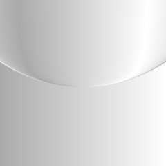 Geometric illustration style with gradient white.background white circle. Use as wallpapers or any other.