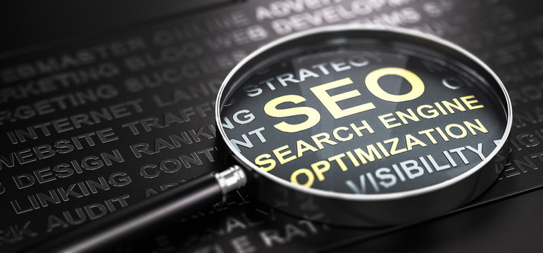 Internet Marketing and Web Analytics. Seo Search Engine Optimization.