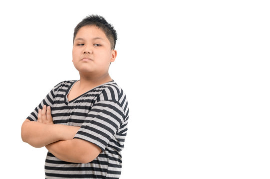 Kid Asian boy face expression envy, jealous isolated white background