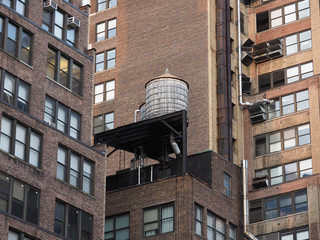 NYC water tower.