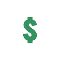 dollar icon vector symbol eps 10