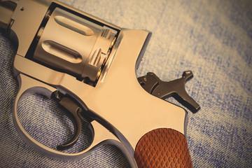 part of an old nagan revolver