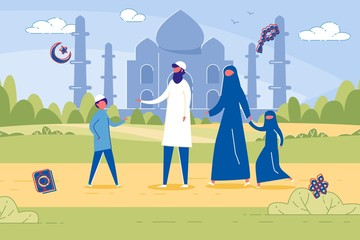 Islamic Family, Honoring Religious Traditions