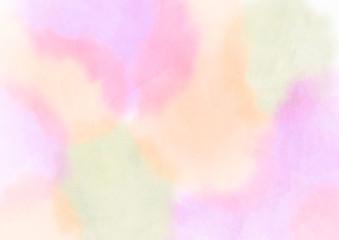 水彩画 背景素材 春イメージ