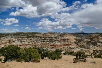 Sandstone Mountains of Utah Desert