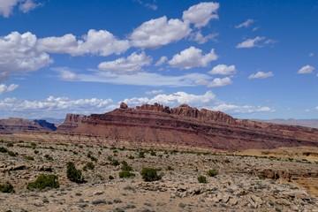 Layered Sandstone Mesa of Utah