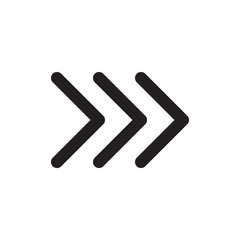 Next Arow icon Design Eps 10