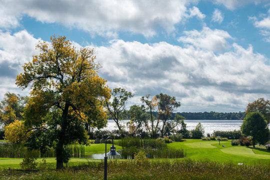 An overlooking view of nature in Alexandria, Minnesota