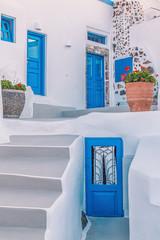 Wonderful view of City buildings on Santorini