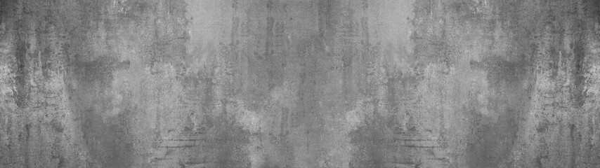 black grey anthracite stone concrete texture background panorama banner long Fotobehang