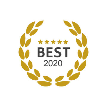 Best seller badge logo. Best seller award logo