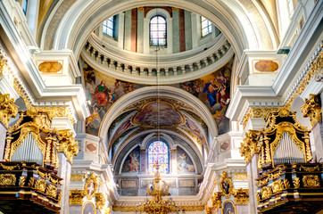 Ljubljana Cathedral, HDR Image