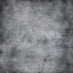 Poster de jardin Metal Gray concrete texture or background. With place for text and image.