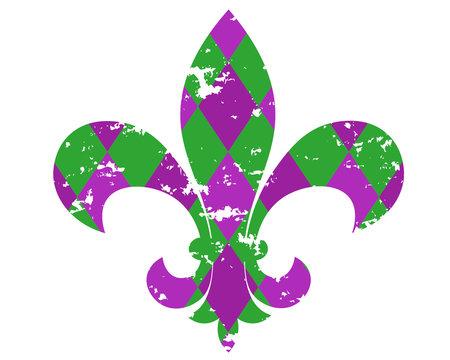 Mardi Gras svg Fleur De Lis clipart New orleans saints Grunge shirt digital files