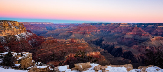 Poster Light pink grand canyon 4