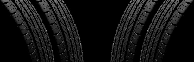 tire texture - background