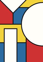 vector modern geometric design background for brochure banner and publication