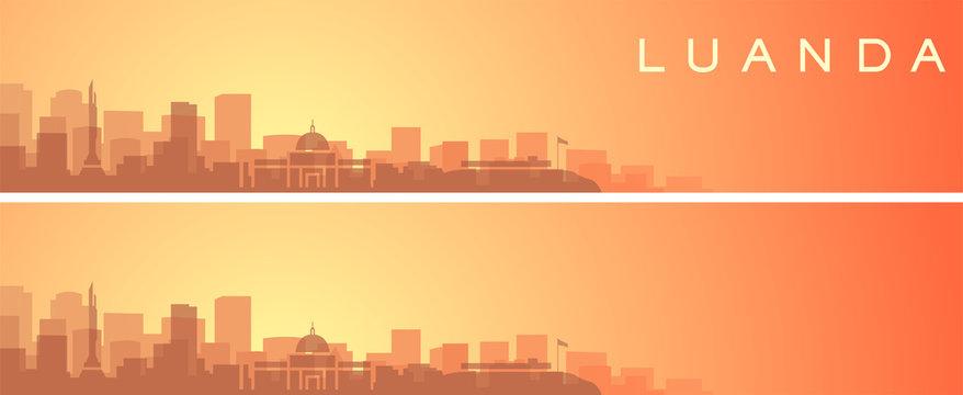 Luanda Beautiful Skyline Scenery Banner