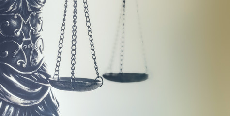 Law and Order, legal symbol the Scales of Justice.