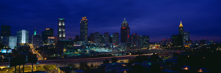 Fototapeta Atlanta Skyline (After Olympics), Georgia obraz