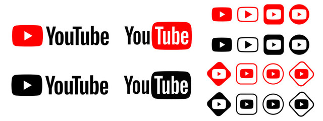youtube logo. youtube vector. youtube download