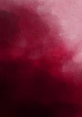 Dark burgundy, wine color watercolor background. Dark red luxury background.