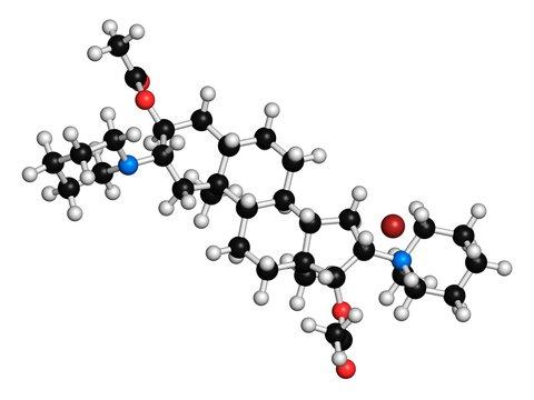 Vecuronium bromide muscle relaxant