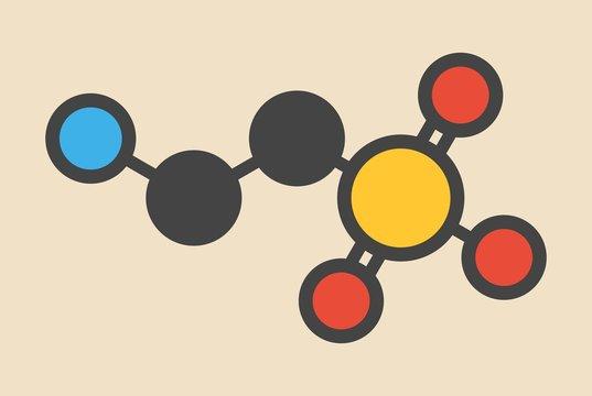 Taurine molecule