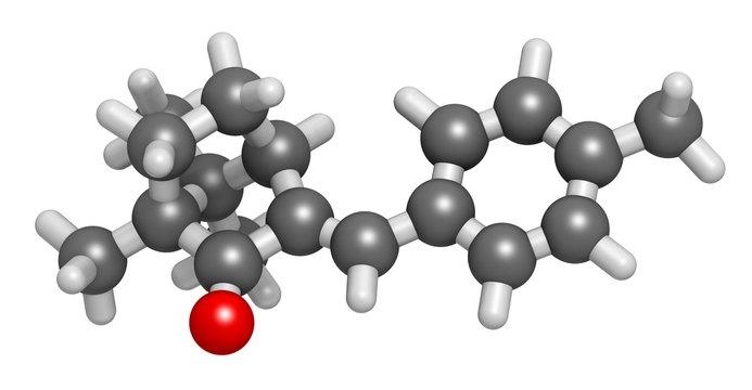 Enzacamene sunscreen molecule