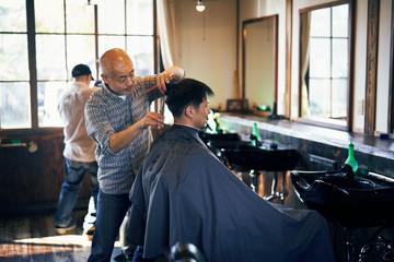 床屋さん 理髪店