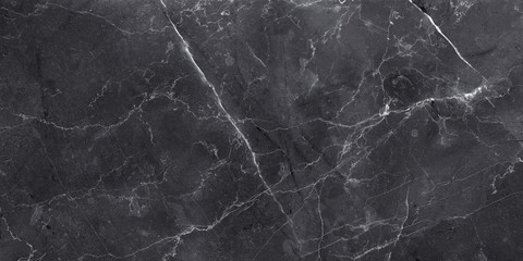 Wall Mural - dark color marble texture, black stone marble background