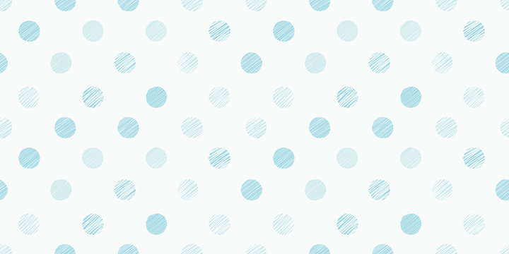 Dot illustration background. Seamless pattern. Vector.ドットイラストのパターン