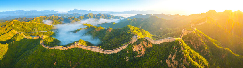Autocollant pour porte Pekin Great Wall of China