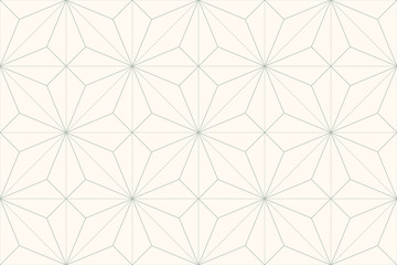 Abstract geometric seamless pattern. Simple abstract pattern. Gray green lines on light background