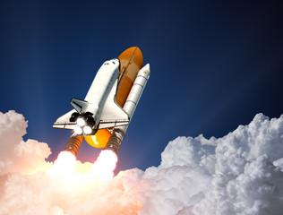 Fototapete - Space Shuttle Launch
