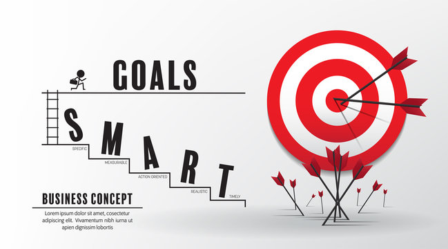 2020 new year startup and target market ideas concept  vector design