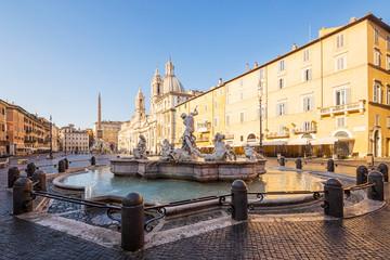 Fototapete - Piazza Navona, Rome. Italy