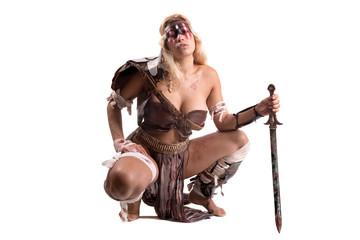 woman gladiator/Ancient warrior