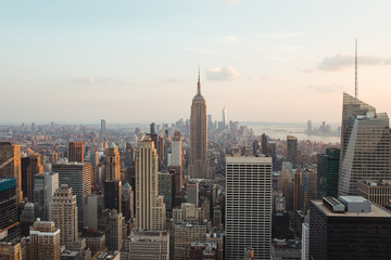 Foto op Plexiglas Historisch mon. view and landscape of cityscape of new york