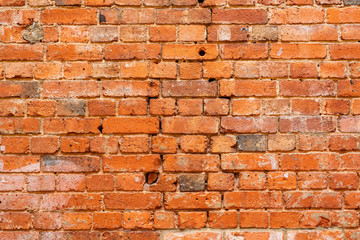 Abstract brick wall pattern background and backdrop, Blank copy space. brick wall wide panorama of...