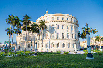 Capitol Building in Havana. The Capitol in La Habana Vieja, Cuba