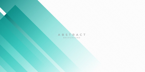 Poster Abstract wave Modern Dark Green Turquoise Grey White Line Abstract Background for Presentation Design Template. Suit for corporate, business, wedding, and beauty contest.