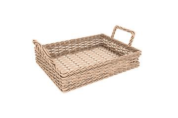 Square Wooden Basket